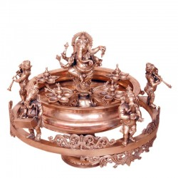 Natya Ganesha Urli