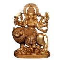 Blessing Maa Durga sitting on Lion