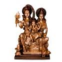 Blessing Shiva Parvathi with Ganesha