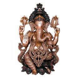 Dual Colour Ganesha Blessing