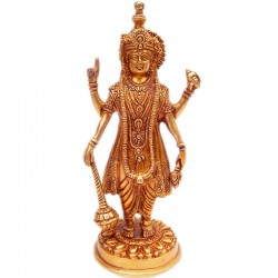 Vishnu Brass Idol