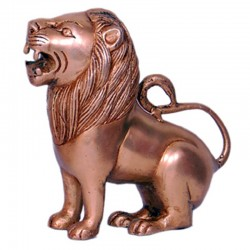 Brass Lion Idol