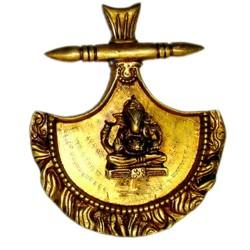 Home Decor Brass Ganesha