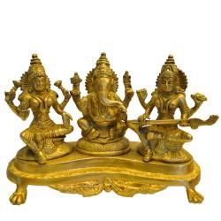 Lakshmi Ganesha Saraswathi On Peeta