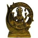 Lakshmi Sitting On Om Peeta