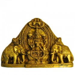 Wall Hanging Lakshmi with Elephants