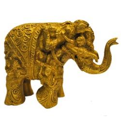 Airavatha Brass Idol