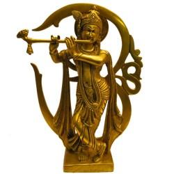 Krishna on Om Peeta