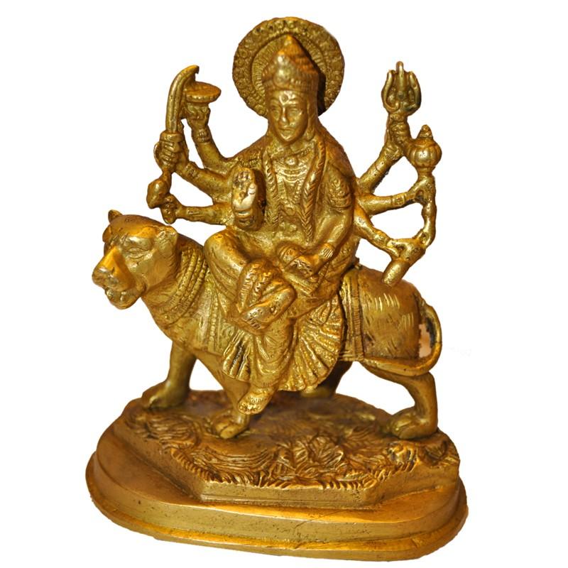 Blessing Maa Durga on Lion