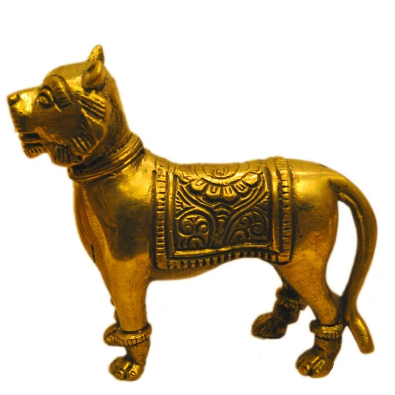 Lion Brass Statue