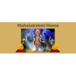Mahalakshmi homa