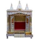 Brass Coated Puja Mandapam