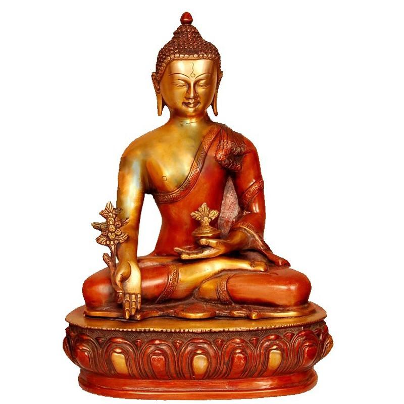 Dual Tone Meditating Buddha