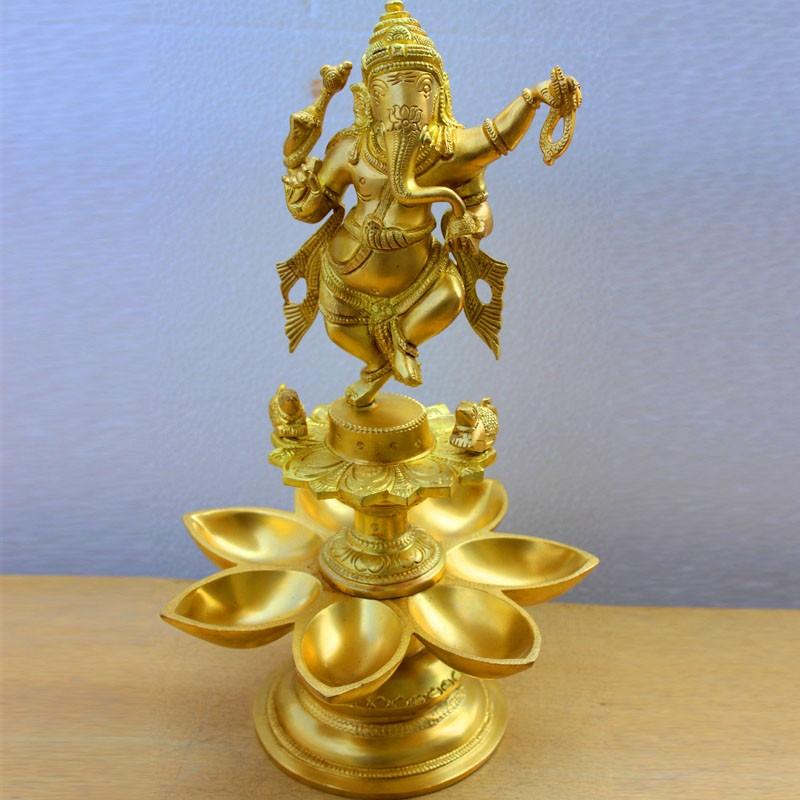 Natya Ganesha diya