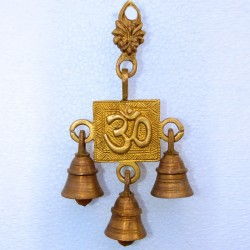 Om Wall Hanging with Bells