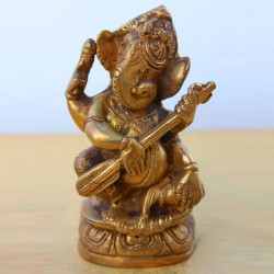Ganesha with Sitar