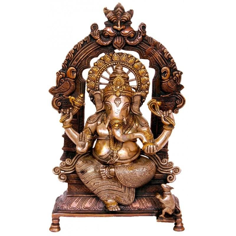 Peeta Prabhavali Ganesha
