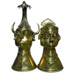 Tribal Madiya King and Queen