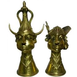 Tribal Madiya Raja aur Rani