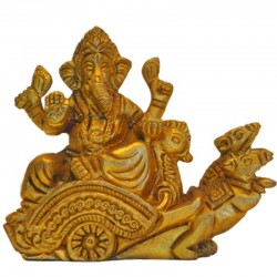 Mouse Carriying Ganesha