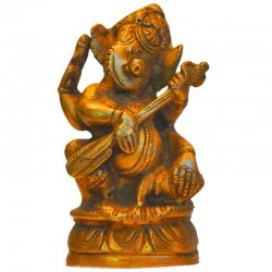 Ganesha Playing Sittar