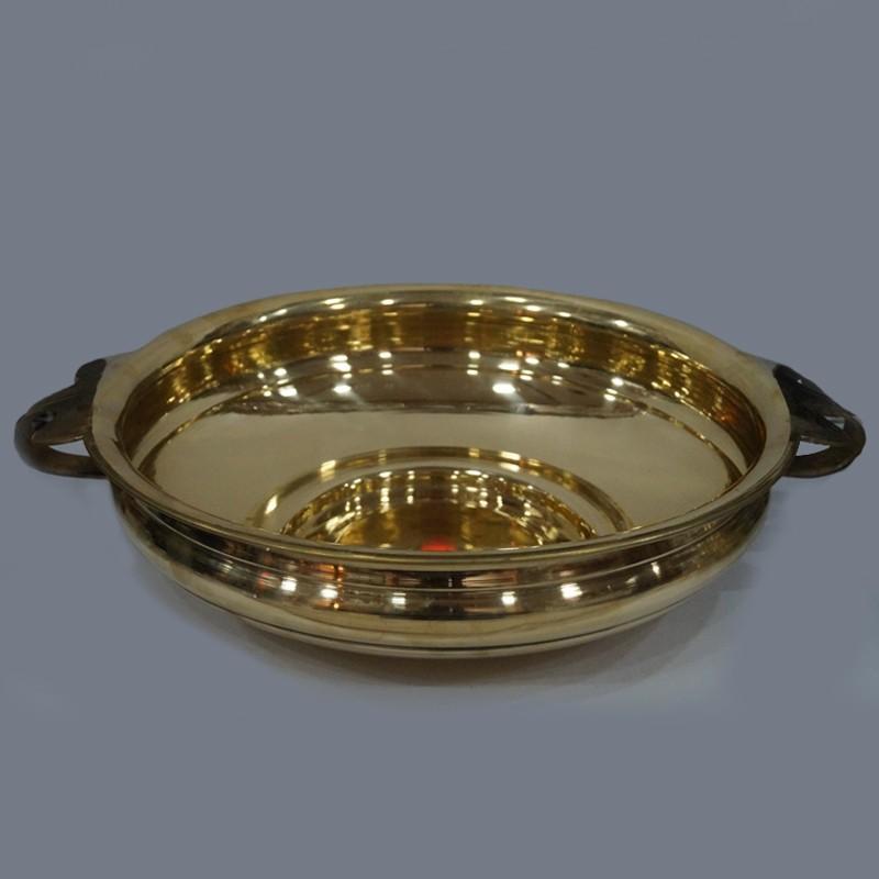 Brass Home Decor: Beautiful Brass Urli For Home Decor