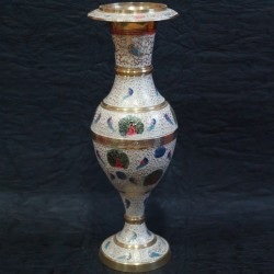 Flower vase made of brass online