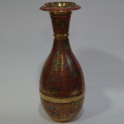 Jar Shaped Brass Flower Vase online