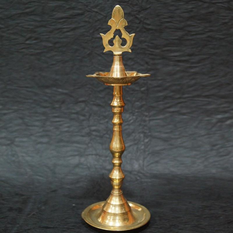 long brass deepa online for festival decorations