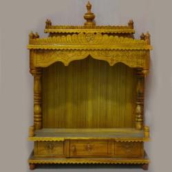 Classic teak wooden mantap