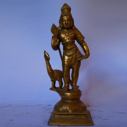 Subramanya swami brass idol online