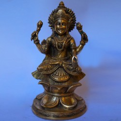 Goddess Lakshmi brass idol online
