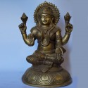 Antique finish brass idols of goddess Lakshmi