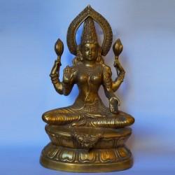 Prasanna Lakshmi Brass statue online