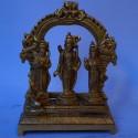 Sri Ram Darbar brass idol
