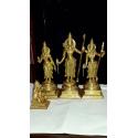 Ram Darbar brass statue