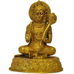 Sitting Hanuman/Anjaneya Blessing