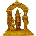 Shri Ram Brass Darbar with Prabhavali