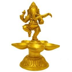 Natya Ganesha Deepa