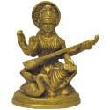 Saraswati Brass Idol