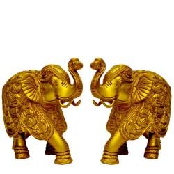 Elepahants with Ganesha Motiff