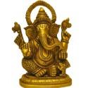Siddhi Vinayak Brass Statue