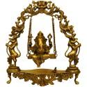 Ganesha on Swing Jhoola