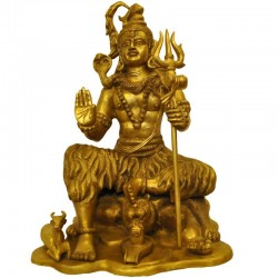 Shiva Brass Statue