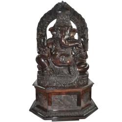 Rosewood Ganesha