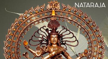 nataraja brass idol